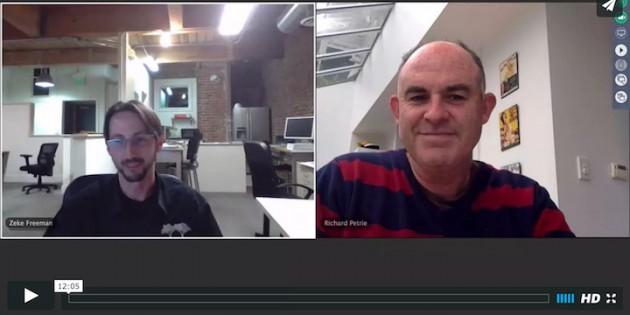 zeke freeman interviewed by richard